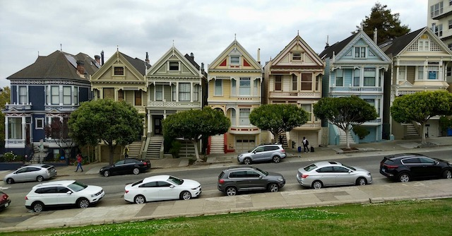 The painted Ladies sont les 7 maisons les plus connues de San Francisco.