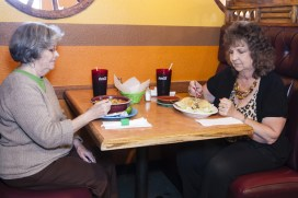 Blue Ridge, Georgia - Directions Magazine Fall 2018 - Diners at Monte Alban Mexican Restaurante