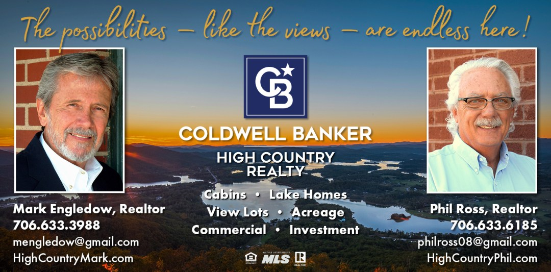Coldwell Banker High Country Realty Phil Ross ad