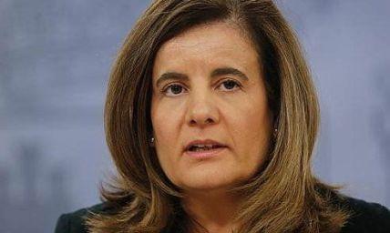 Fátima Bañez, ministra de trabajo