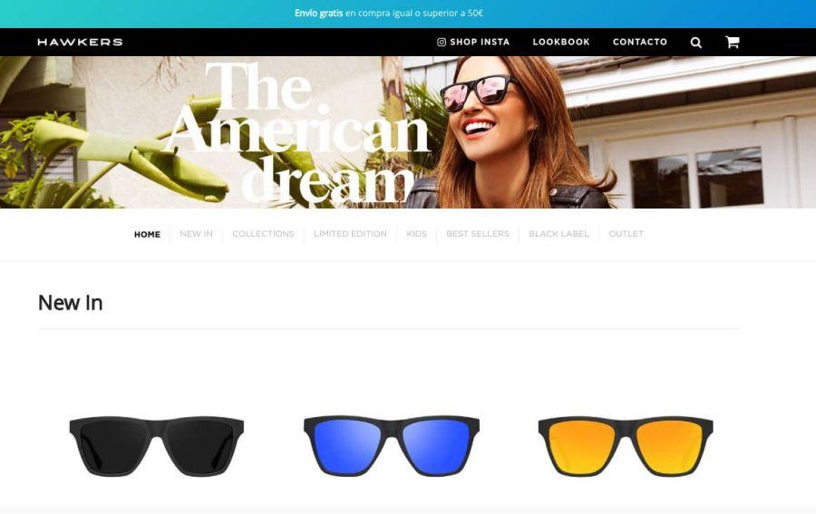 Hawkers, tienda online que ha revolucionado la venta online de gafas de sol