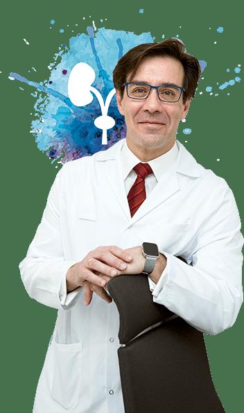 El doctor en urología, François Peinado.