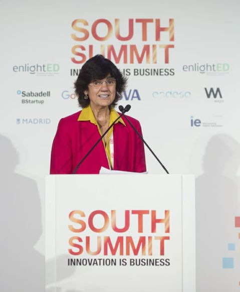 María Benjumea durante una jornada del South Summit 2018.