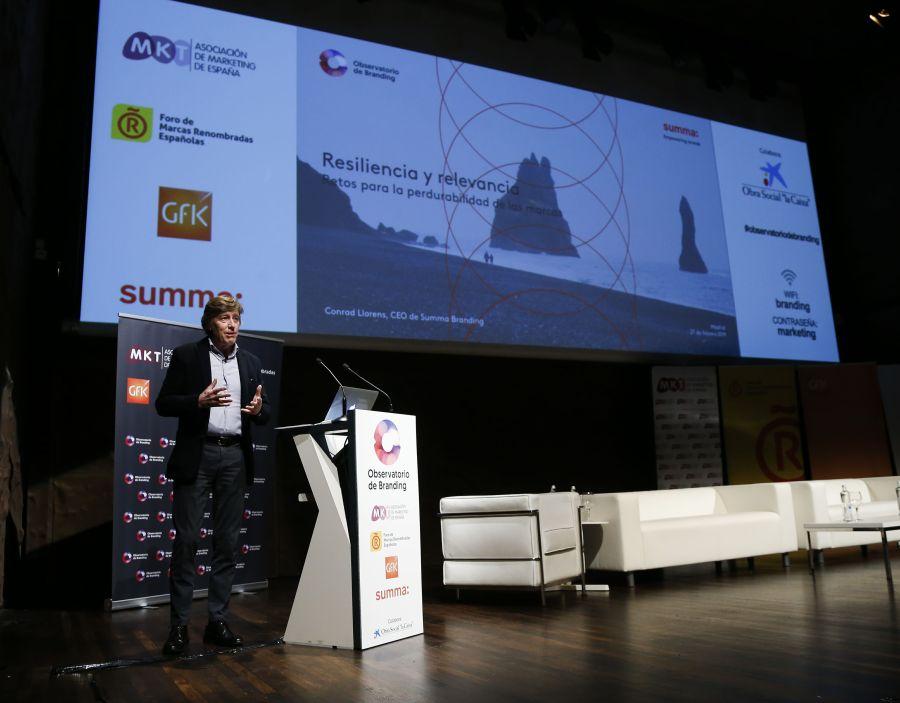 Conrad Llorens, CEO de Summa Branding.