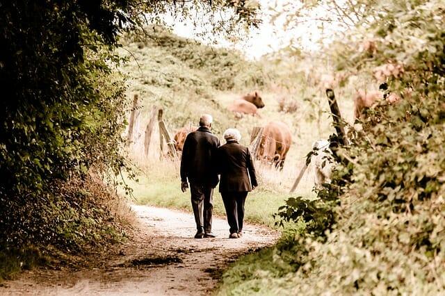 Envejecimiento de la población en España.