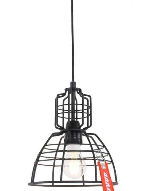 Industrieel draadlampje Anne Mark III zwart  Directlampennl