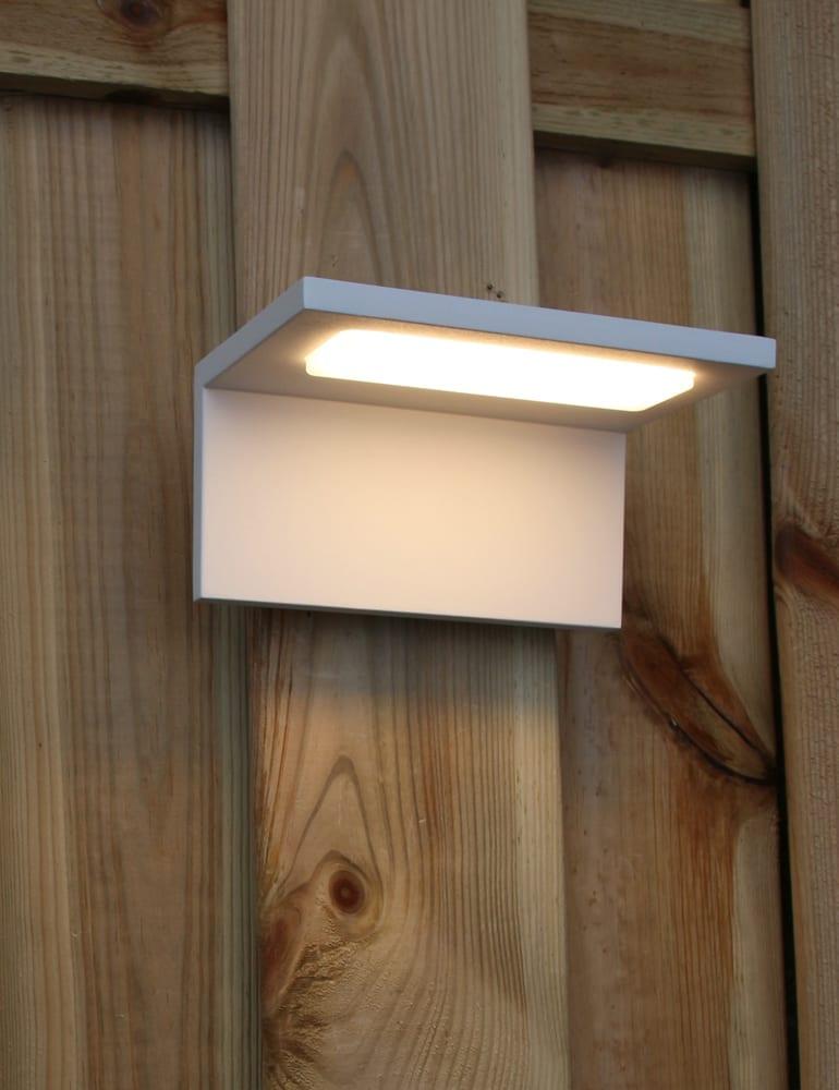 LED buitenlamp Trio Leuchten Trave wit  Directlampennl