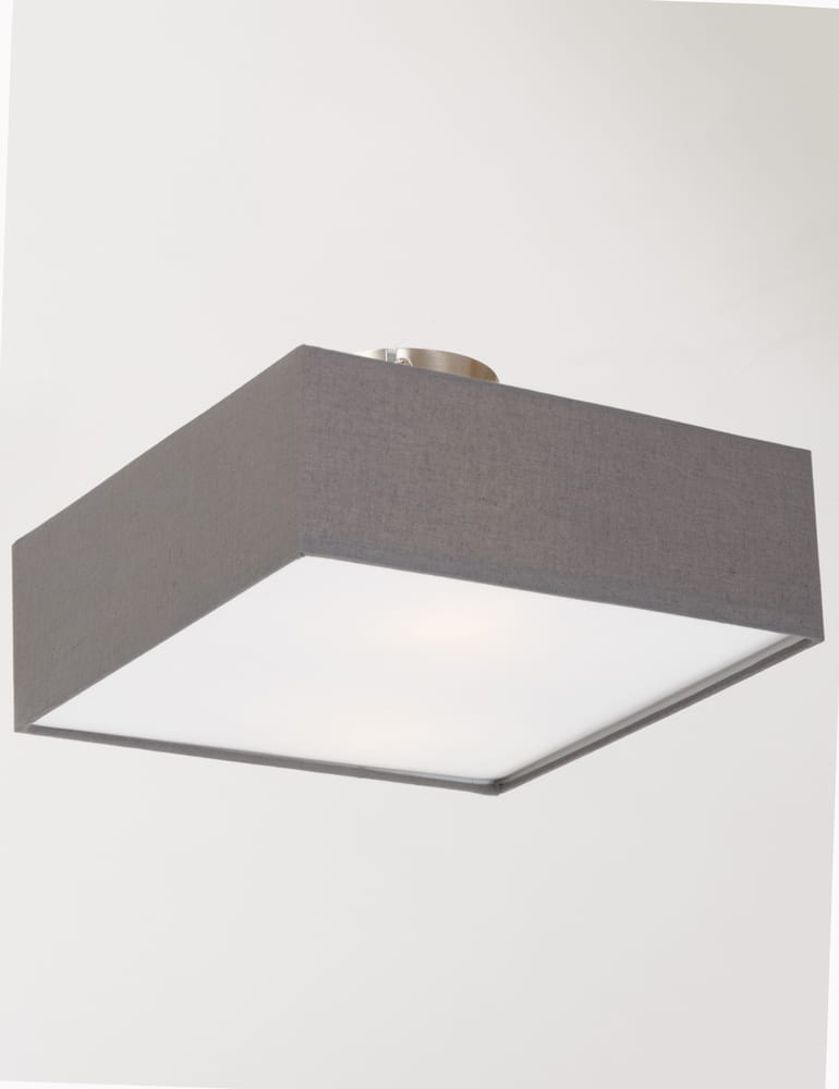 Stoffen plafondlamp plafond met kap  Directlampennl