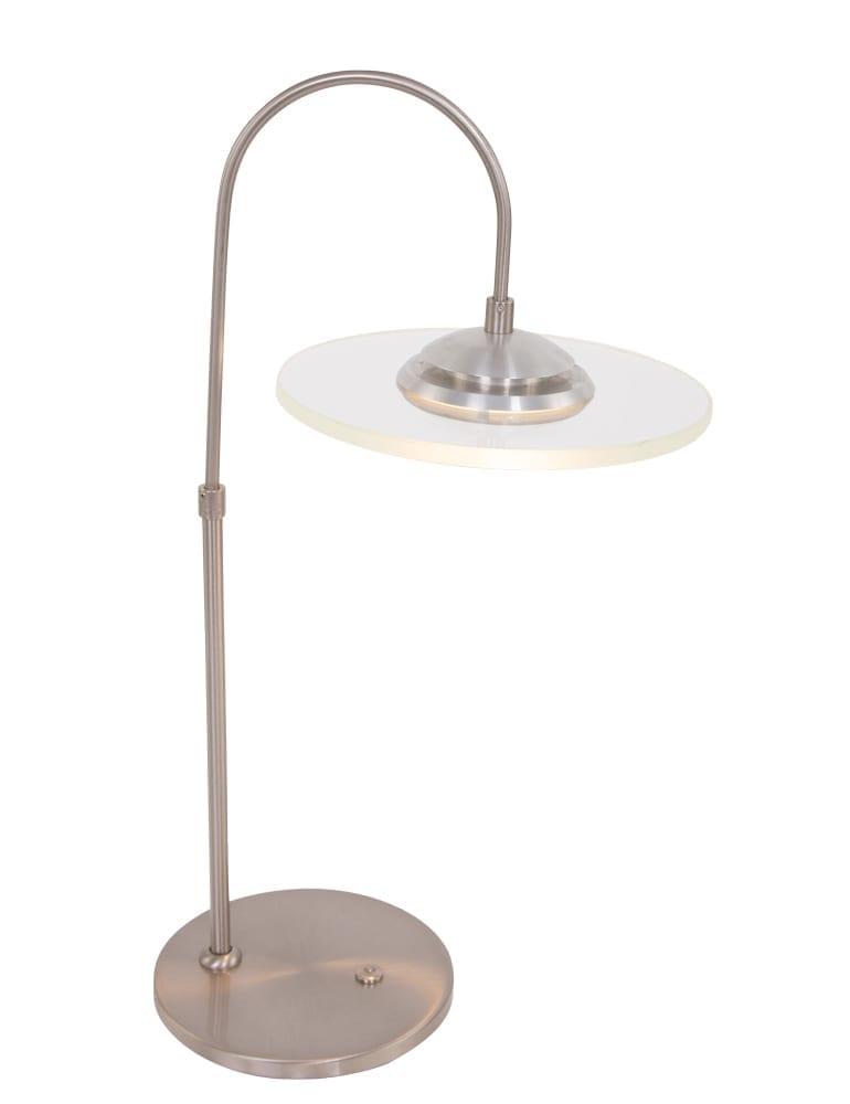 Dimbare tafellamp in staal met LED lampje  Directlampen