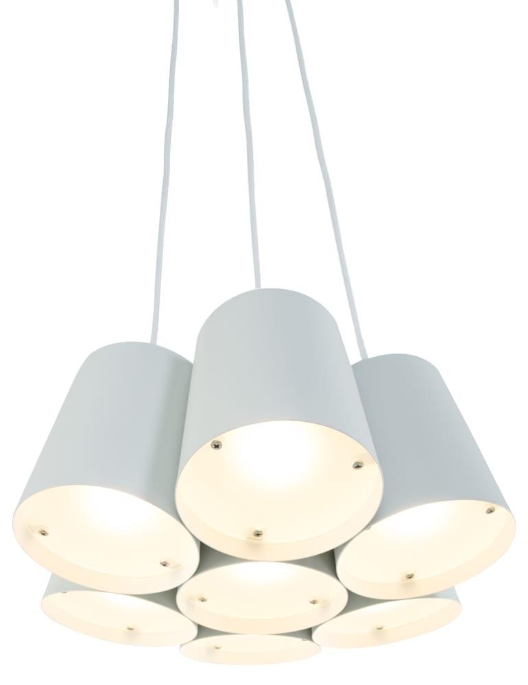 Speelse kamerlamp Freelight Aster wit
