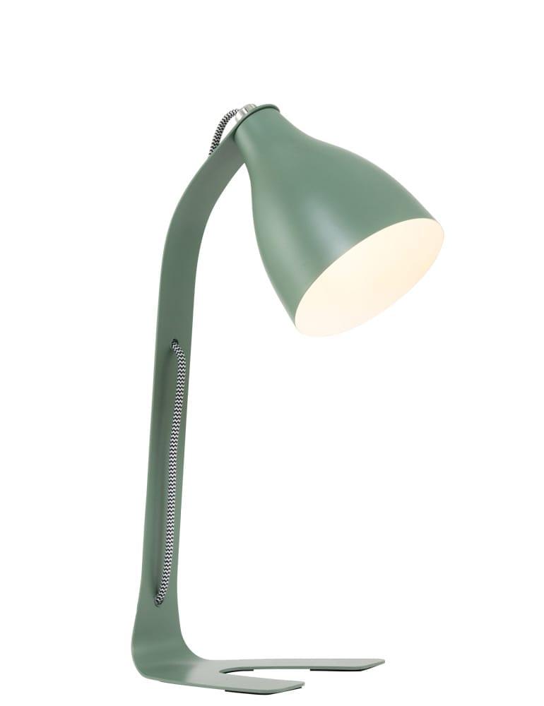 Stoere bureaulamp Leitmotiv Barefoot jungle green