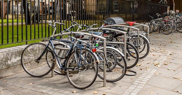 Bike racks - example 1