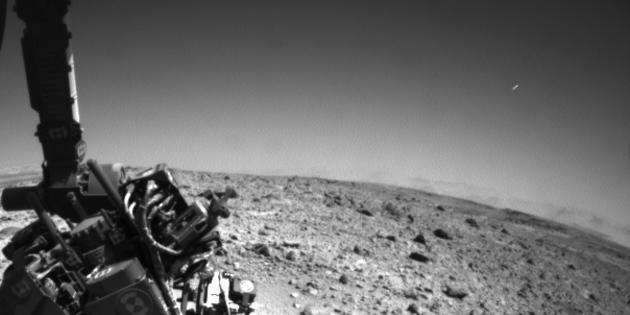Curiosity a t-elle photographié un OVNI dans le ciel de Mars ?