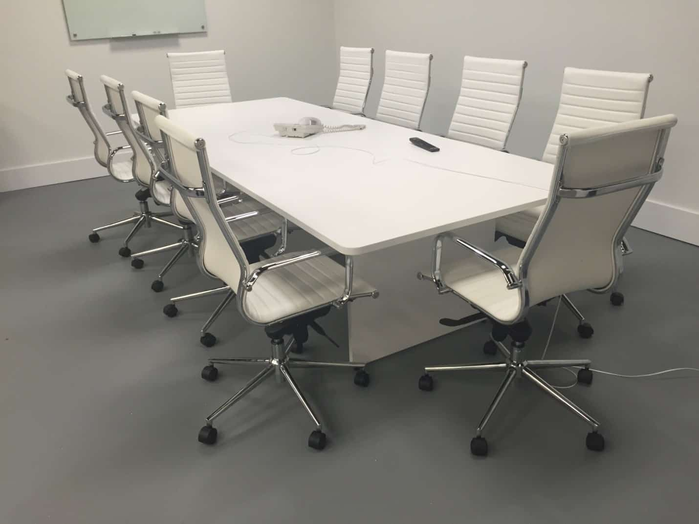 modern conference chairs oversized office 500lbs 10 foot slab base table direct