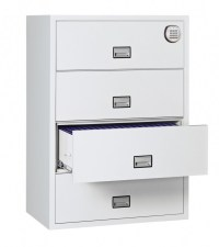 Phoenix FS2414E Lateral 2 drawer filing cabinet electronic ...