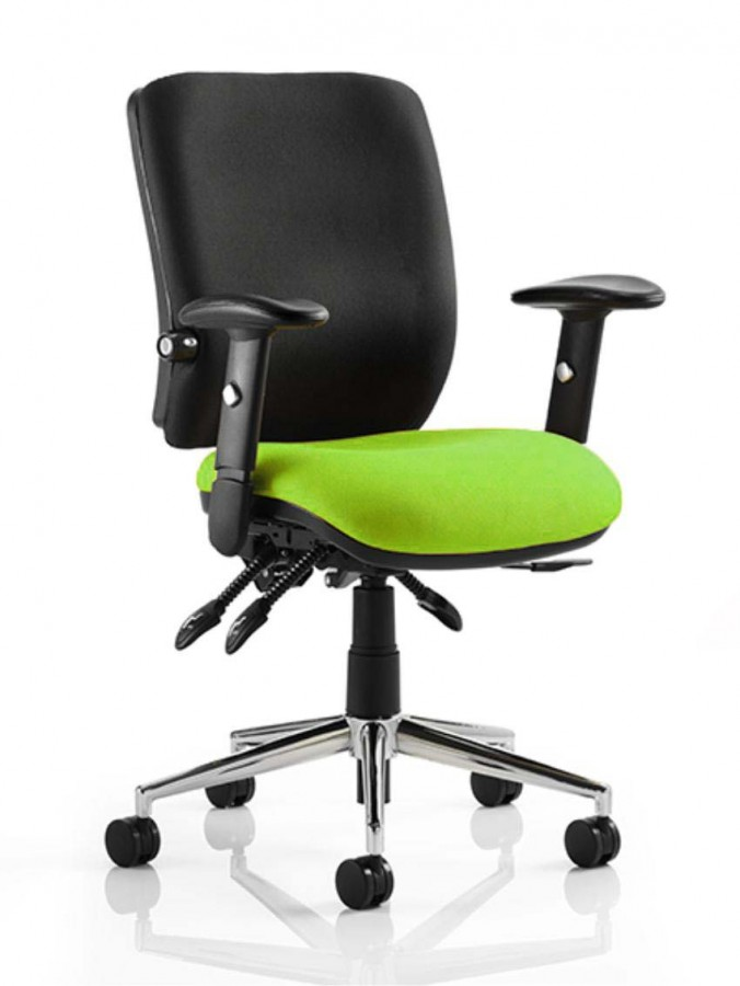 posture support chairs office medical shower chiro green & black ergonomic chair