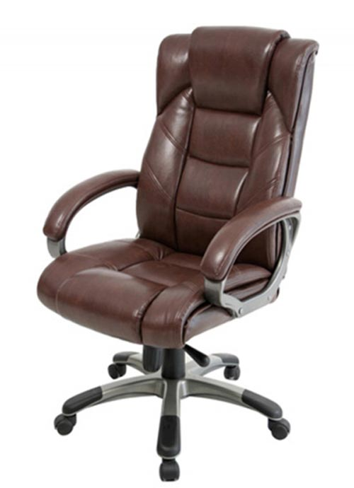 Northland Brown Leather Office Chair  AOC6332LBR