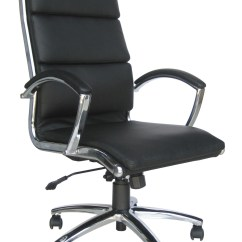 Leather Chair Office Air Swing Classic High Back Choice Of Colours