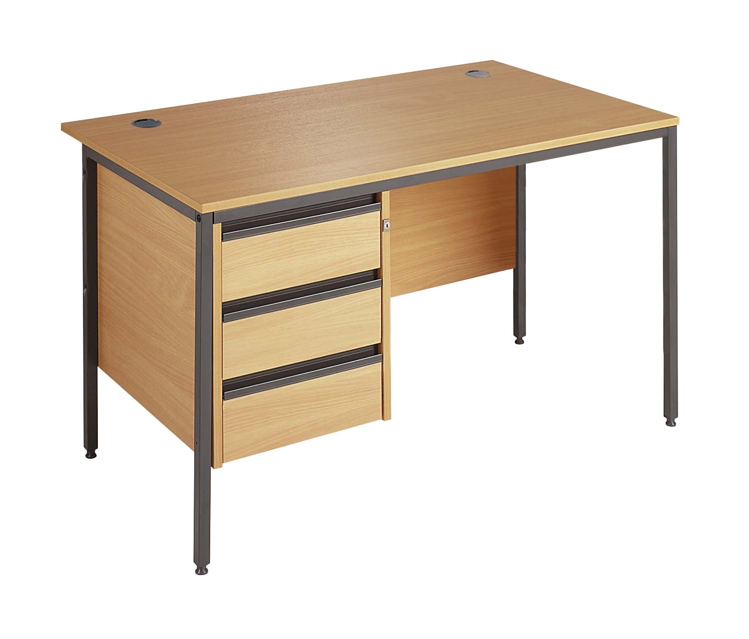 Maestro Straight Office Desk With Drawers