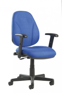 Office Chair With Lumbar Support - Choice of Colours
