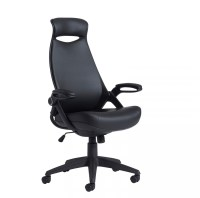 Tuscan High Back Office Chair In Black