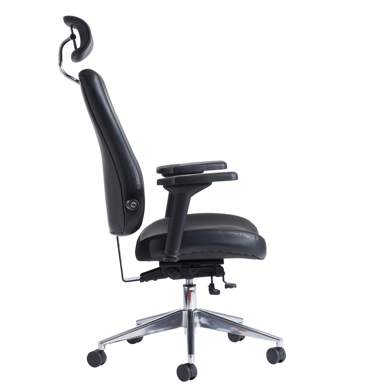 posture promoting chair papasan with cushion and frame franklin heavy duty 24 hour office