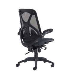 Office Chair You Sit Backwards Best Massage Napier High Back Mesh With Seat