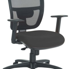 Office Chair With Adjustable Arms Zero Gravity Tray Pocco Mesh