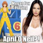 Megan Fox Cast in Ninja Turtles?!?!