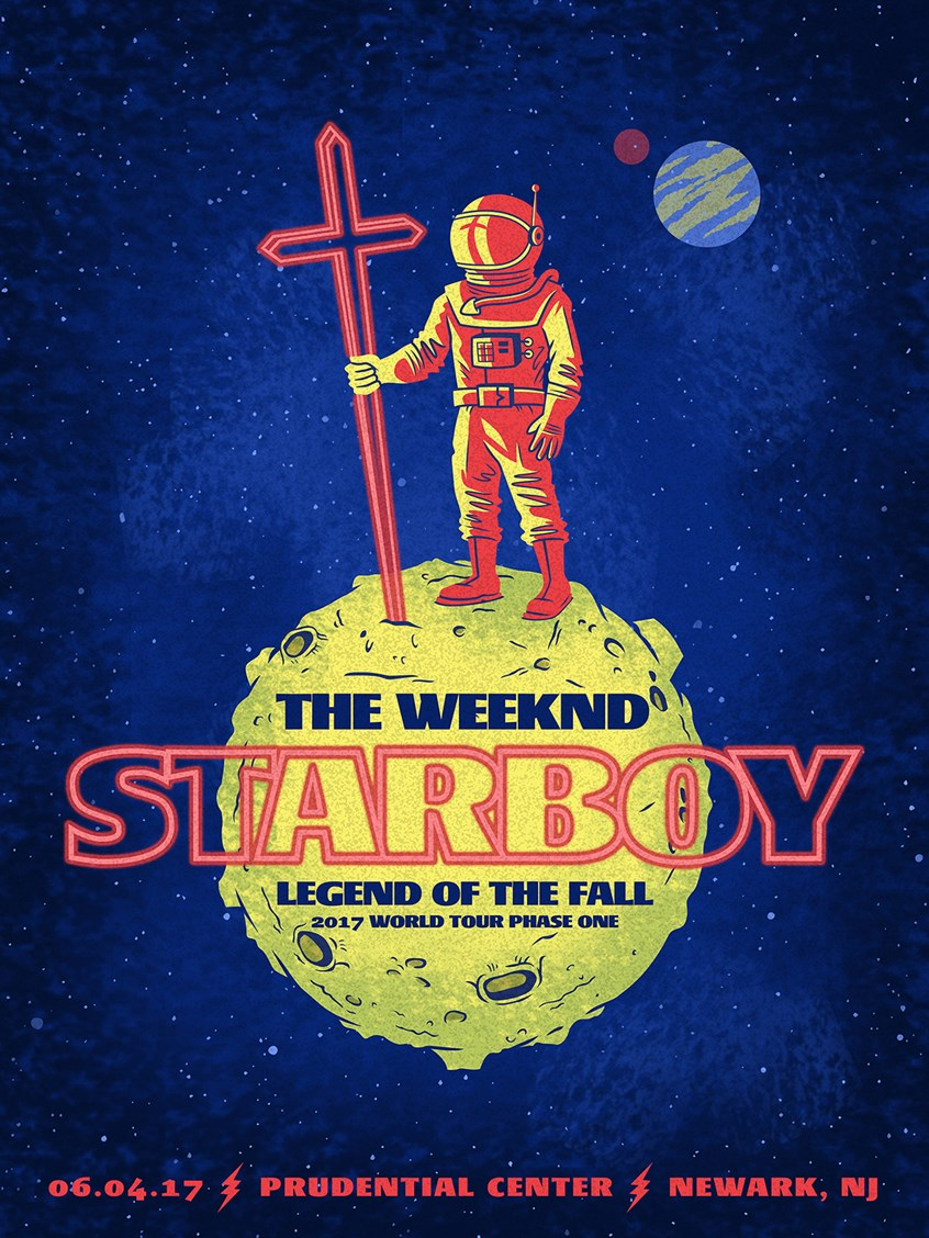 the weeknd starboy tour 2017 music