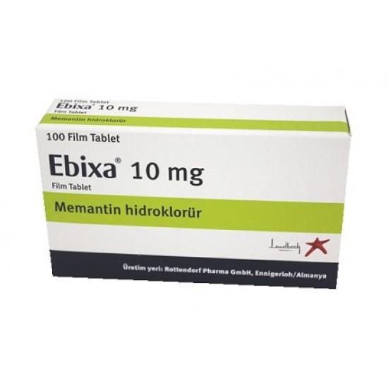 Ebixa 10 mg 100 tablets - Dementia - Alzheimer