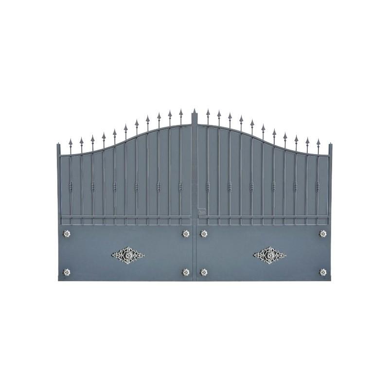 portail aluminium battant et coulissant modele a1tr