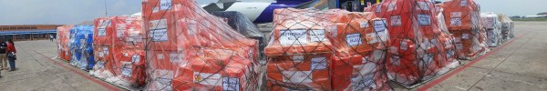 Medical Supplies Delivered to Nepal