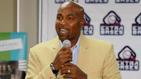 Baseball legend Carlos Delgado is giving back to children in Puerto Rico, through his foundation, Extra Bases, which is working to connect children on the island to medical care. (Photo courtesy of Extra Bases)