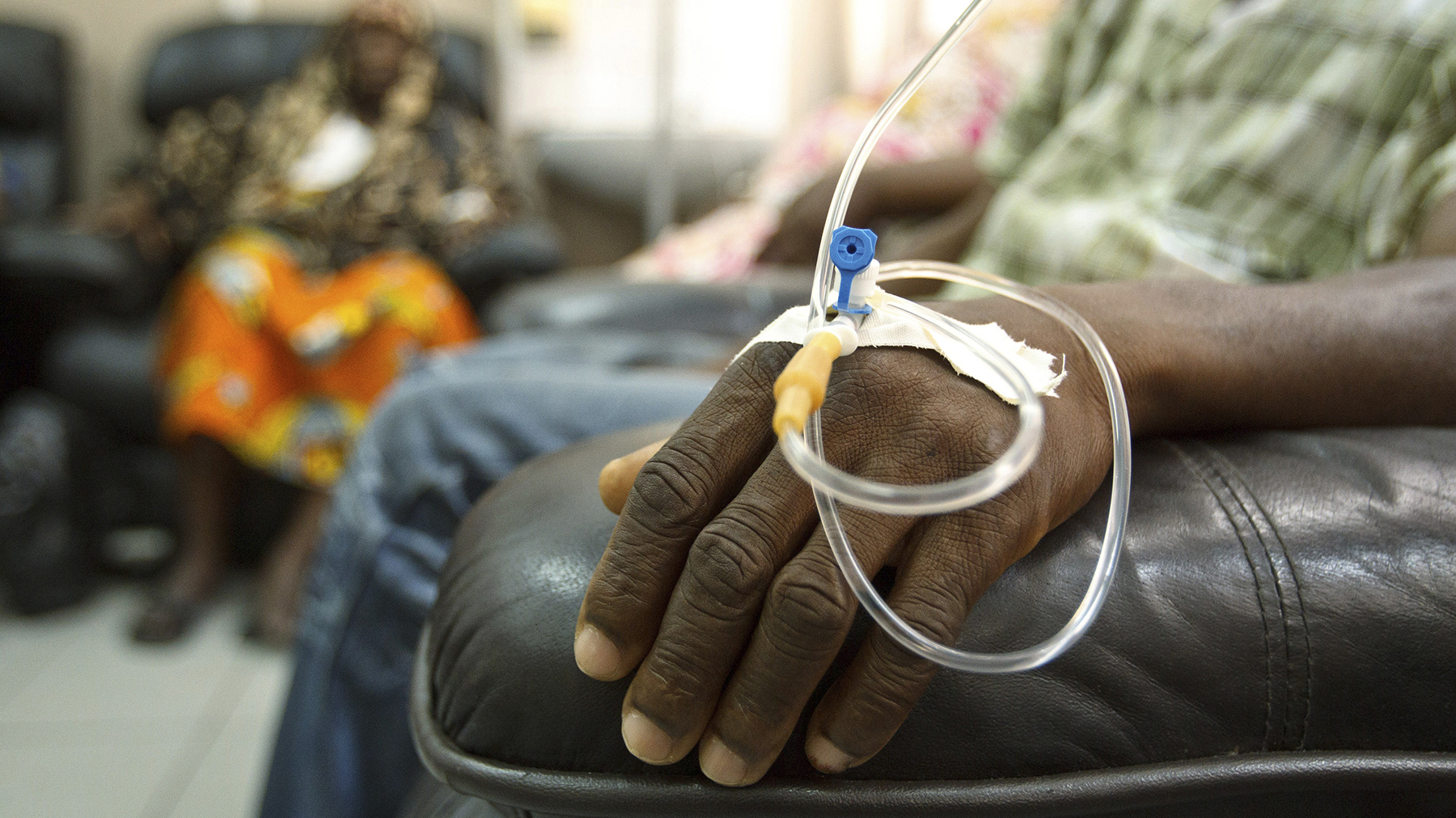 Cancer treatment therapies remain out of reach for many patients across the world, including for patients in Africa. (Photo by Olivier Asselin/Reuters)