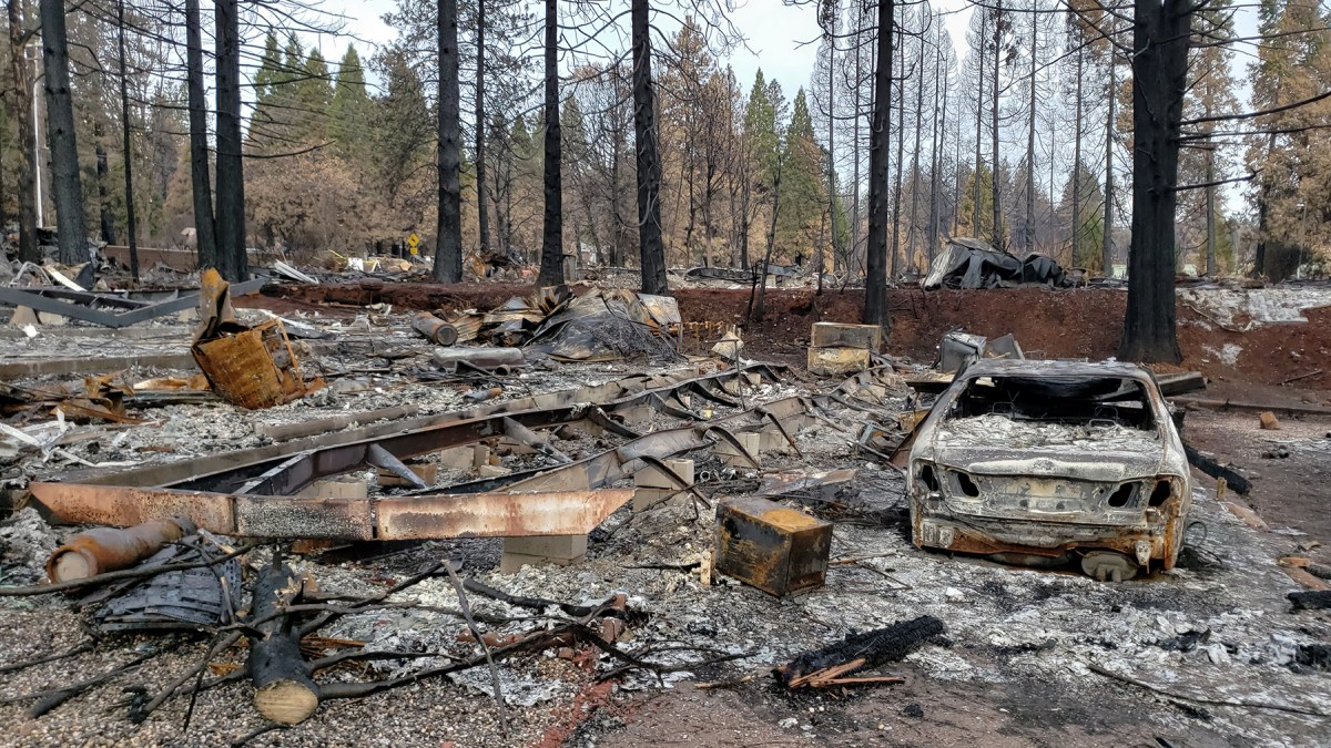 Asbestos, Heavy Metals, Lead. Long After a Wildfire, Toxic Substances Linger.