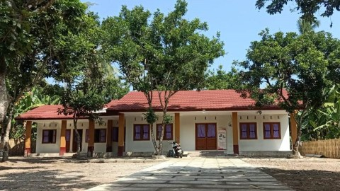 The completed maternal and community care center in Lombok. (Photo courtesy of Bumi Sehat)