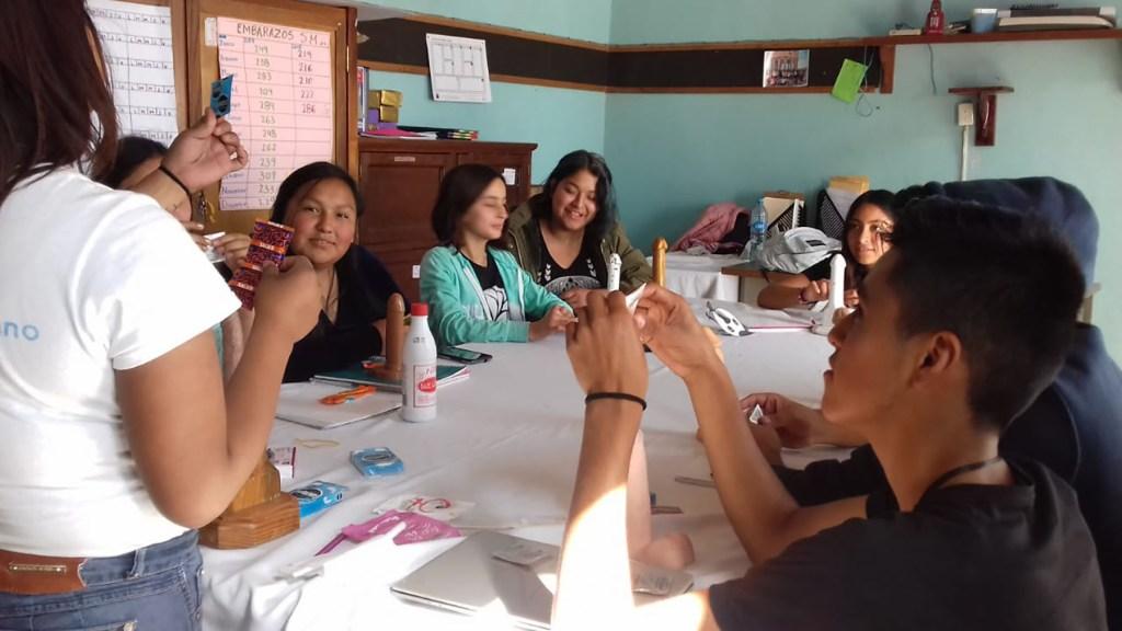 A sexual health education class at CASA. (Photo courtesy of CASA)