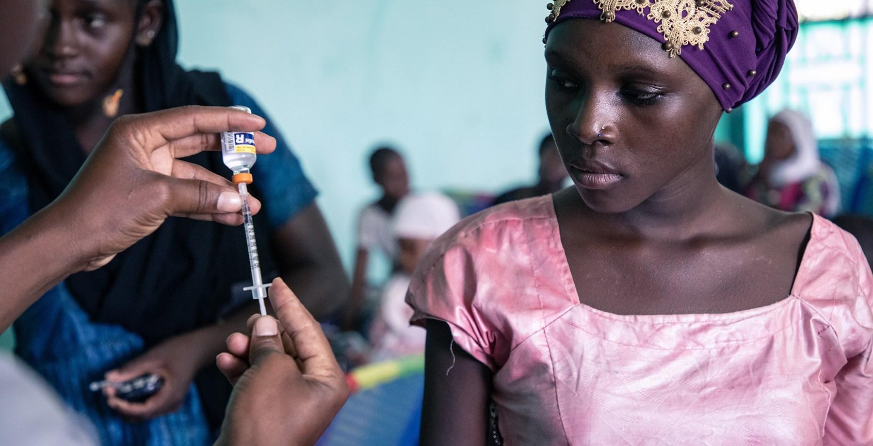 Journées d'éducation thérapeutiques organisées par l'ONG Santé Diabète à la Maison des Jeunes de Bamako