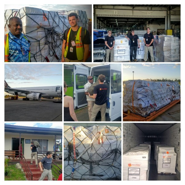 Fiji Aid Delivery