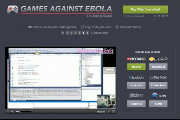 Games Against Ebola