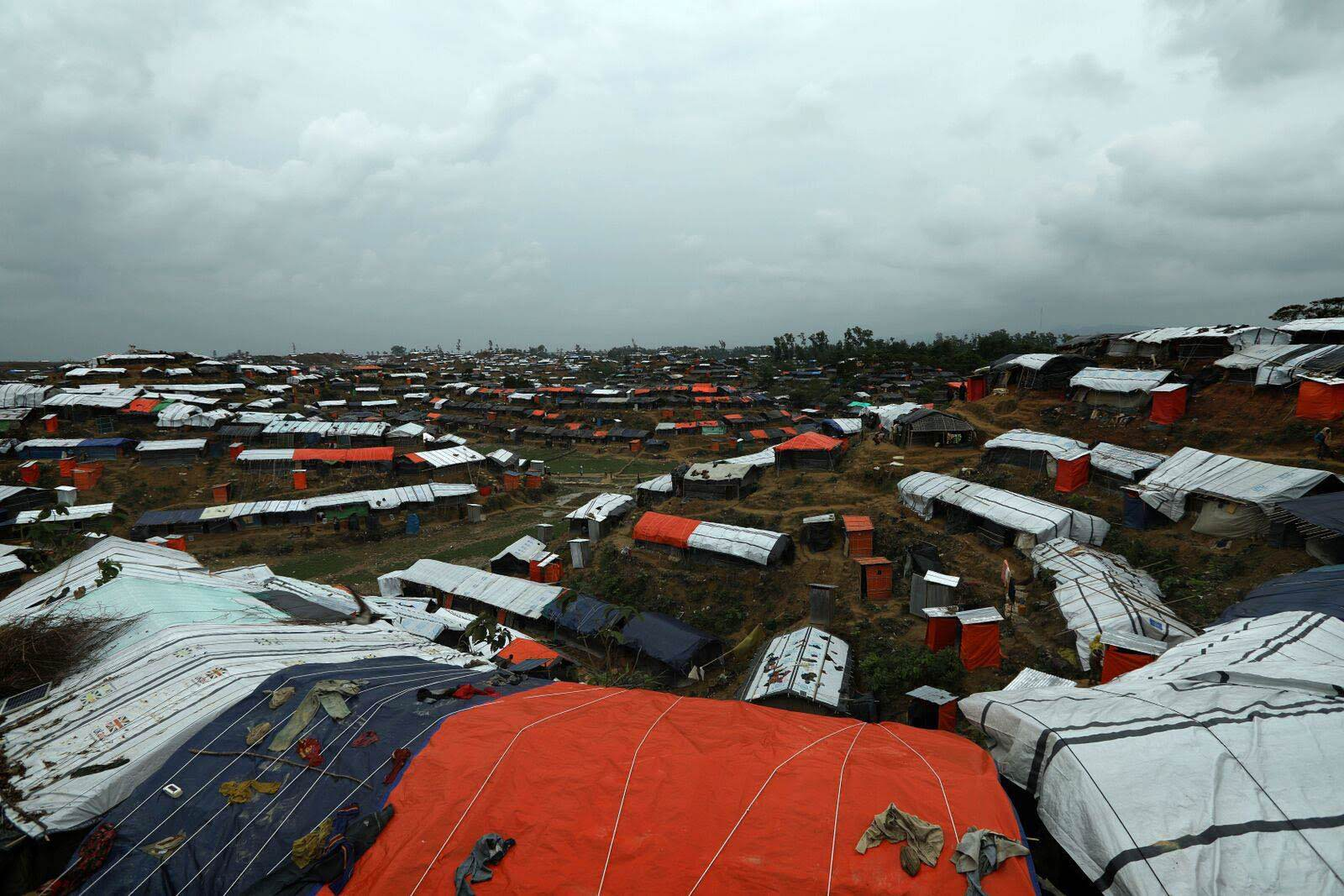 Direct Relief is coordinating with HOPE Hospital in Cox's Bazar, Bangladesh, to establish field hospitals throughout settlements of Rohingya refugees. (Photo courtesy of Josh Estey and HOPE Hospital)