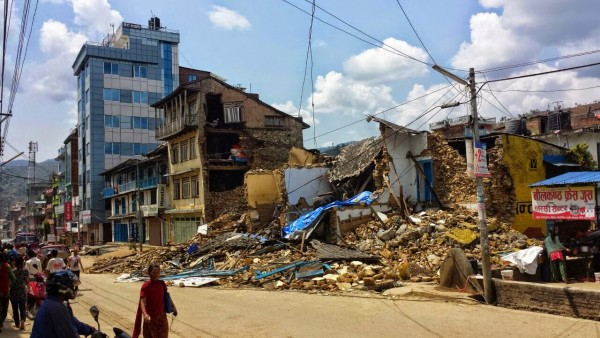 Buildings Destroyed Nepal Earthquake