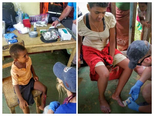 Caring for patients in fiji