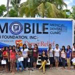 IPI Dental Van with dental patients in Baybay paint