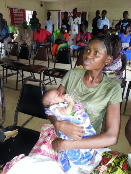 Mom + 2 wk baby survivor