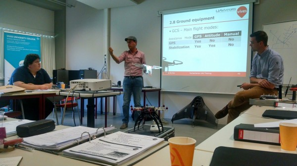 First Global Humanitarian UAV Training