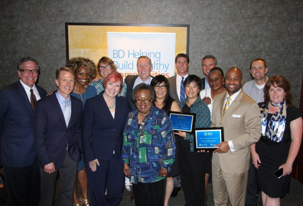 Morris Heights Health Center was one of seven winners of the BD Helping Build Healthy Communities Award.