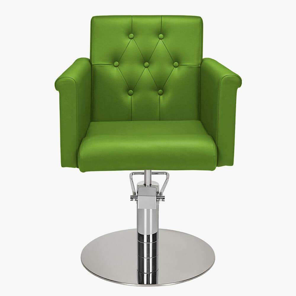 pink salon styling chair ergonomic office jakarta mila senator in premium fabric | direct furniture