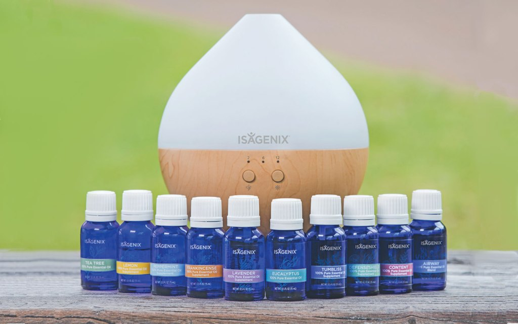 Essence by Isagenix Essential Oil Collection